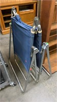 Folding Metal Frame Lounge Chair