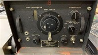 Us Army Signal Corps Zenith Frequency Meter