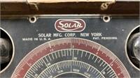 Solar Capacitor Analyzer:  Rough