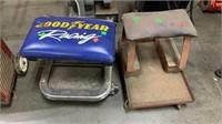 2 Parts Caddy Stools