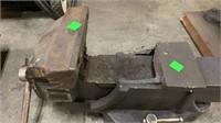 Broken Bench Vise: Marked '6' On Side