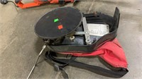 Gas Weedeater, Worx Weedeater: No Battery,