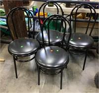 4 Black Chairs