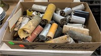 Assorted Vintage Electronics, Mics, Meters:, Vase