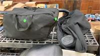 Harley Davidson Seat, 2 Harley Soft Bags, Parts
