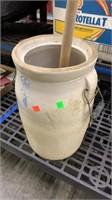 4 Gallon Churn: Lid Is Broken