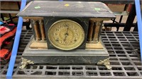 Mantle Clock: No Key: Rough