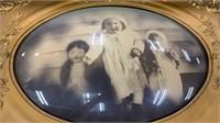 3 Framed Pictures: Largest Frame Is Damaged