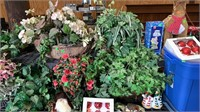 Holiday Decor, Faux Greenery, Misc Books