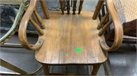 """Wooden Highchair: 40"""" Height"""