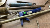 Grease Guns, Hard Hat, Gas Pump Handles,