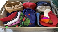 2 Totes: 1 Full Of Hats