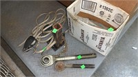 Assorted Bags, Filters, Lugnuts, Parts, Jump