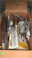 3 Boxes Assorted Hand Tools & Hardware