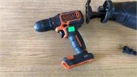 Craftsman Electric Sawzall, B&d 20 V Drill