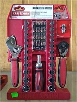 Craftsman 46 Pc Stubby Wrench & Socket Set