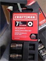 """5 1/2"""" Craftsman Socket Sets, 2 Socket Rails"""