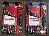 Craftsman 8 Pc Metric & 8 Pc Inch Dual Ratchet