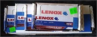 4 Packs Of Assorted Size Lenox Recip Saw Blades