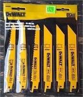 Pack Of 6 Dewalt Reciprocating Saw Blades
