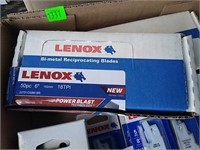 Flat Of Lenox Reciprocating Saw Blades
