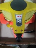 Lufkin & Ace 100' Tape Measure Reels