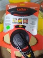 Lufkin 100' Tape Reel, Ace 300' Tape Measure Reel