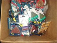 Box Lots Of Oscillating Tool Sandpaper's & Parts