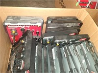 Box Lot Of Assorted Wrenches: Mostly Gear
