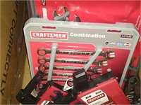 Flat Of Assorted Craftsman Wrench Sets