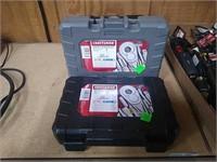 Craftsman 17 Pc Metric & 17 Pc Std Ratchet Sets