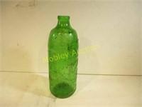 RARE GREEN GLASS BOTTLE