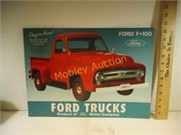 FORD TRUCK SIGN METAL