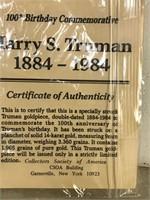Truman Commemorative