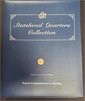 STATEHOOD QUARTERS COLLECTION BINDER VOL 1 (111)