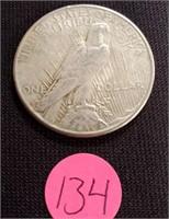 1923 - SILVER PEACE DOLLAR (134)