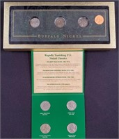 BUFFALO NICKELS & CLASSIC NICKLES SET  (88)
