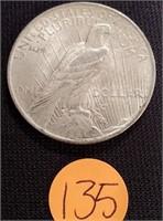 1922 - SILVER PEACE DOLLAR (135)