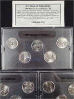 1999-2000-2001 - STATE QUARTER COLLECTION (62)