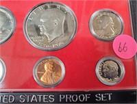 """UNITED STATES PROOF SET """"SEE PICS"""" (66)"""