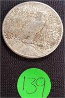 1923 - SILVER PEACE DOLLAR (139)