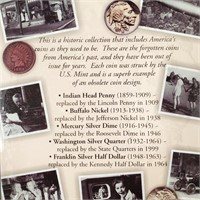 FIRST COMMEMORATIVE MINT COIN COLLECTION (79)