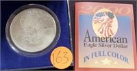 2000 - EAGLE SILVER DOLLAR (163)