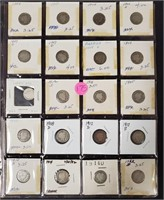 LOT OF SILVER DIMES - SEE PICS (175)