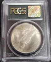 "1922 ""MS64"" - SILVER PEACE DOLLAR (131)"