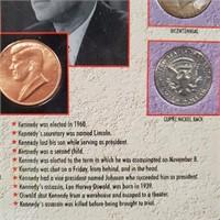 ABRAHAM LINCOLN & JFK COINS (82)