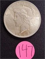 1923 - SILVER PEACE DOLLAR (147)