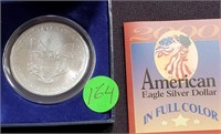 2000 - EAGLE SILVER DOLLAR (164)
