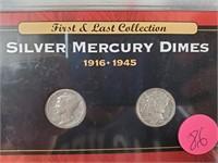 RARE PENNIES & SILVER MERCURY DIMES (86)
