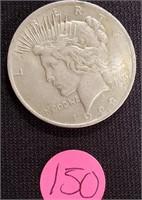 1923 - SILVER PEACE DOLLAR (150)